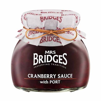 Cranberry Sauce w. Port Mrs Bridges 250g