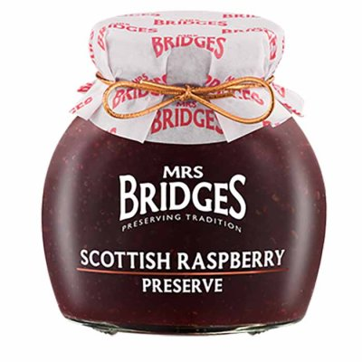 Scottish Raspberry Preserve Mrs Bridges 340g