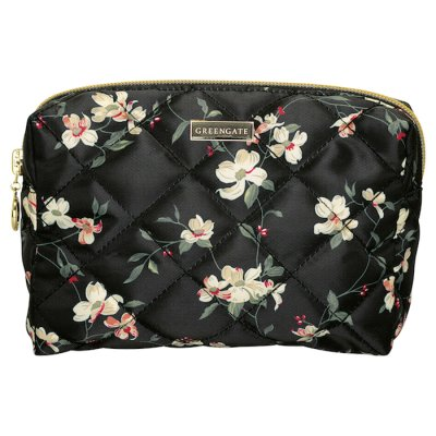 GreenGate cosmetics bag Jolie M black