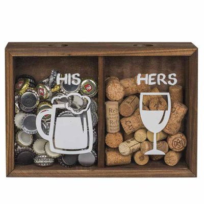 His & Hers Box for corks
