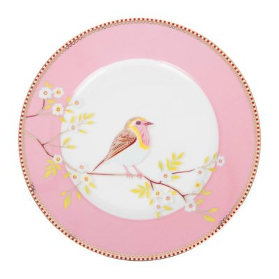 PIP Studio Early Bird plate pink