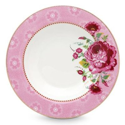 PIP Studio Rose soup plate pink