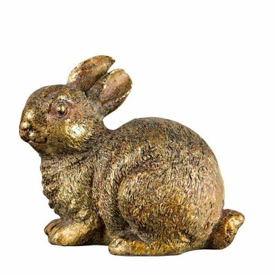Bunny decoration gold