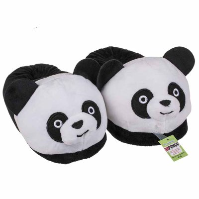 Panda slippers, children sizes