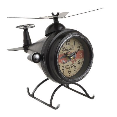 Table clock Helicopter