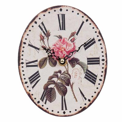 Table clock Rose