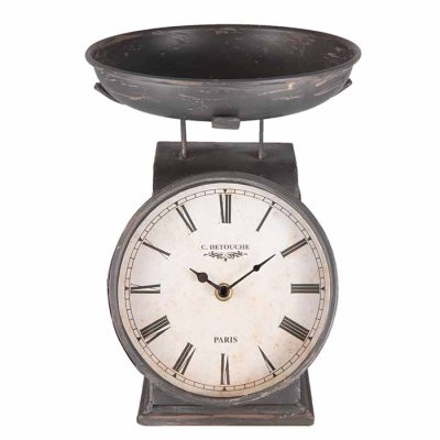 Table clock scale