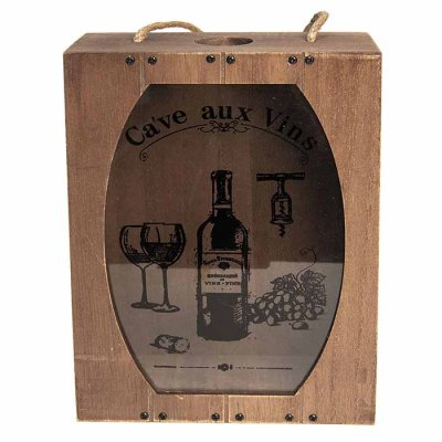 Ca've aux Vins box for corks