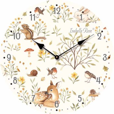 Wall clock 15 cm Forest Friends