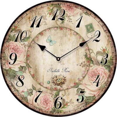 Wall clock 15 cm Isabelle