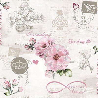 Napkin Eternal Love
