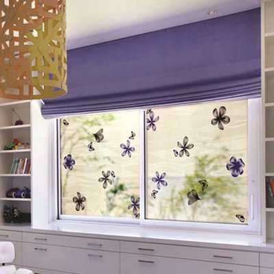 Window film Flower field 45 cm