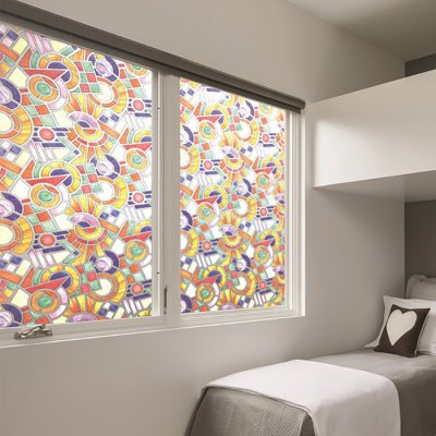 Window film Geometric 45 cm