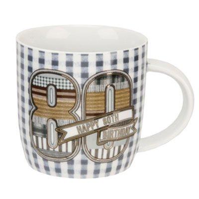 Mug Happy 80th Birthday