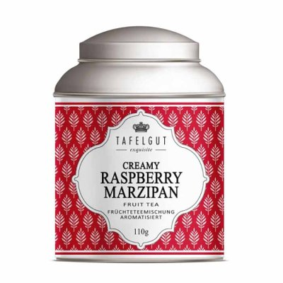 Creamy Raspberry Marzipan tea mini