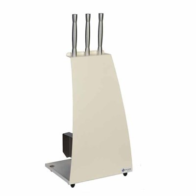 Fireplace toolset Curve white