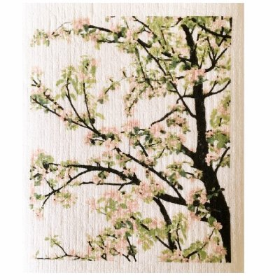 Apple tree dischcloth