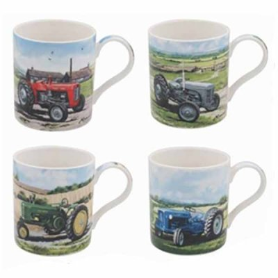 Mug tractor, different colours