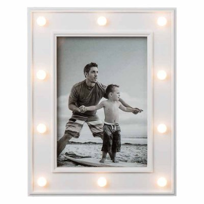 Picture frame with LED lights 13x18 cm