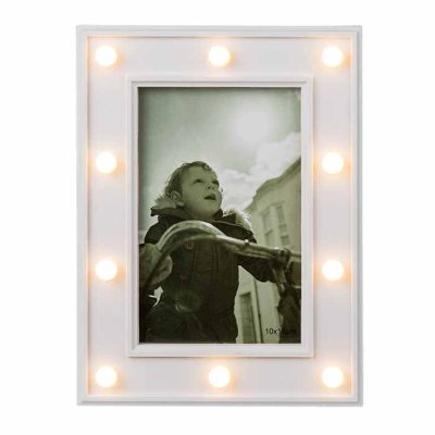 Picture frame with LED lights 10x15 cm