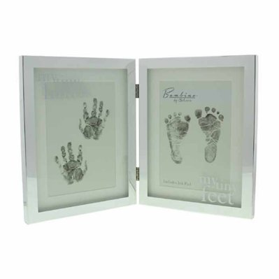 Frame for baby's hand and foot print