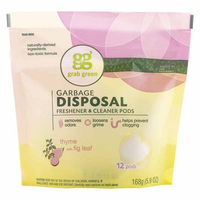 Garbage disposal cleaner Thyme with fig leaf