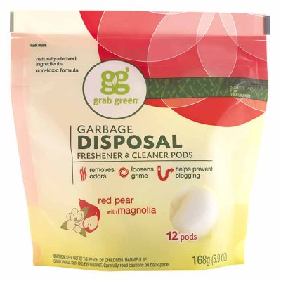 Garbage disposal cleaner Pear with magnolia