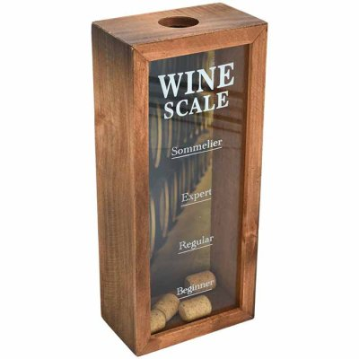 Wine Scale box for corks