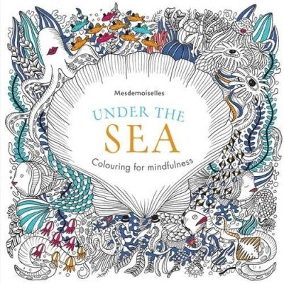 Colouring book for grown-ups, Under the sea