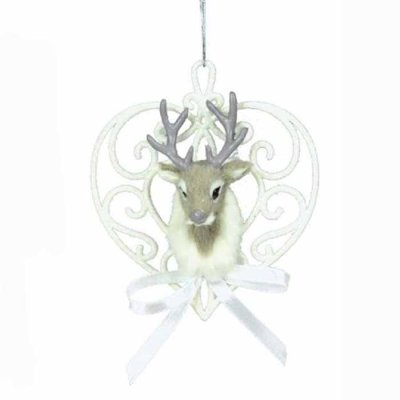 Christmas decoration deer heart