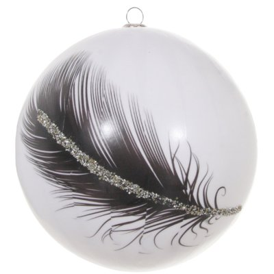 Christmas decoration feather