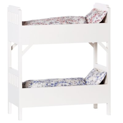 Maileg bunk bed off white