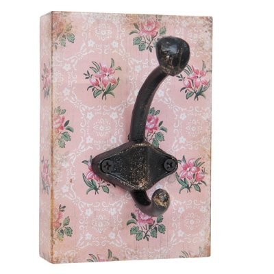 Coat hook Diana pink