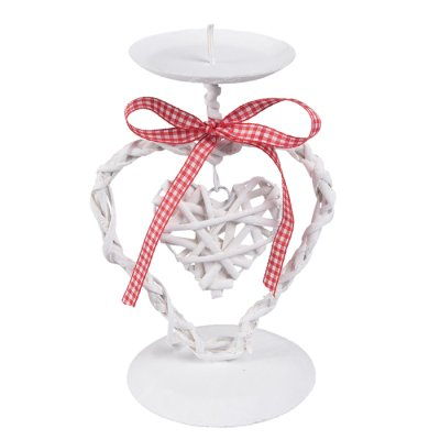 Candle holder Heart 19 cm