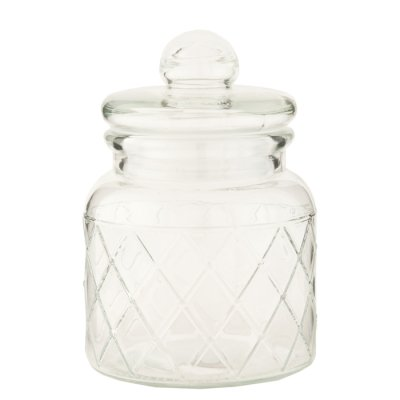 Glass jar Laura 15 cm