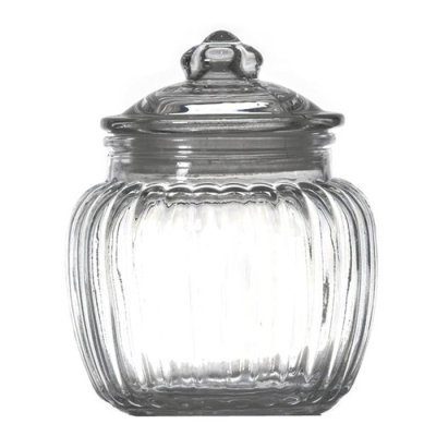 Glass jar 14,5 cm