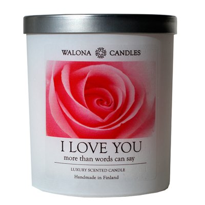 Walona candle I love you