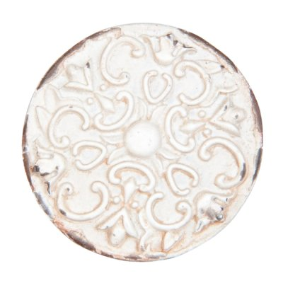 Door knob Alice rustic white