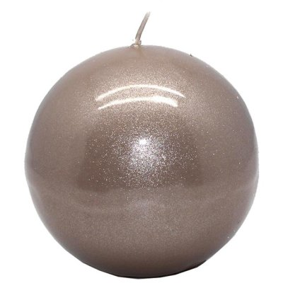 Ball Candle pearlysand