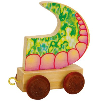 Letter train Dragontail