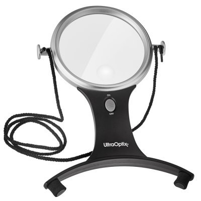 Magnifier hands-free