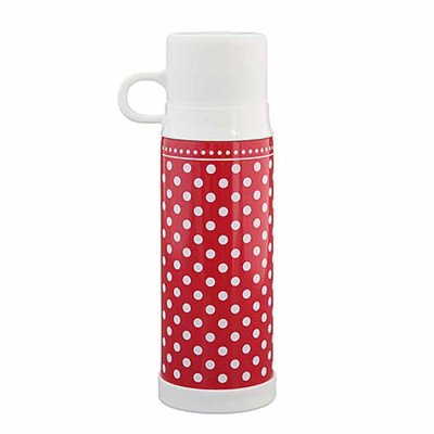 Dots thermos bottle red 500 ml