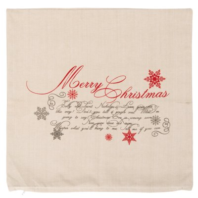 Merry Christmas pillow case