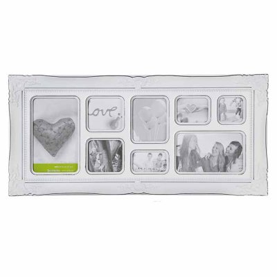 Picture frame for 8 photos