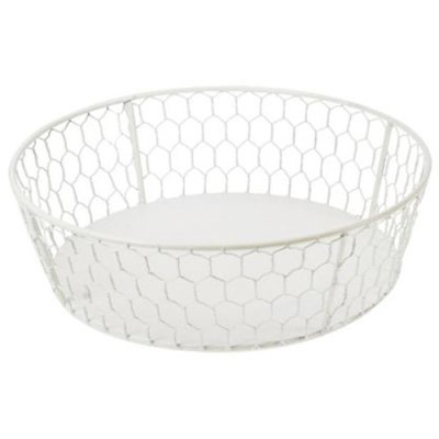 Basket wire white, different sizes