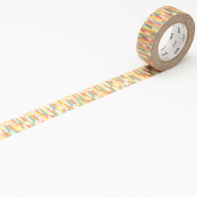 Washi tape blocks multicolour