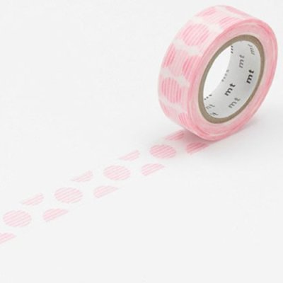 Washi tape balls light pink