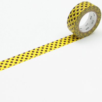 Washi tape balls yellow