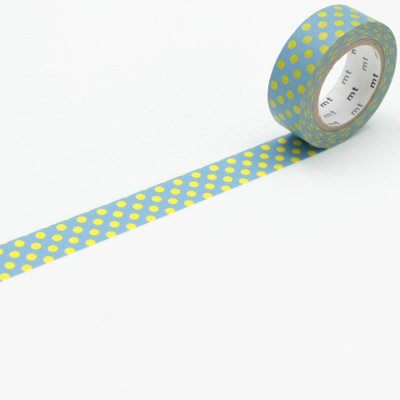 Washi tape balls blue