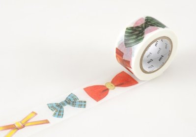 Washi tape bows